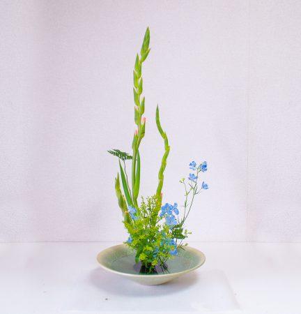 自然的な自由花